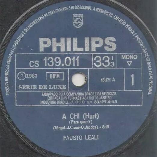 Italian music in Brazil 1963 to 1969