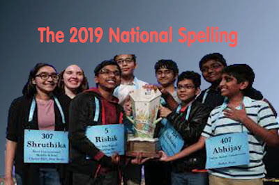 The 2019 National Spelling Bee ended in an unprecedented 8-way tie
