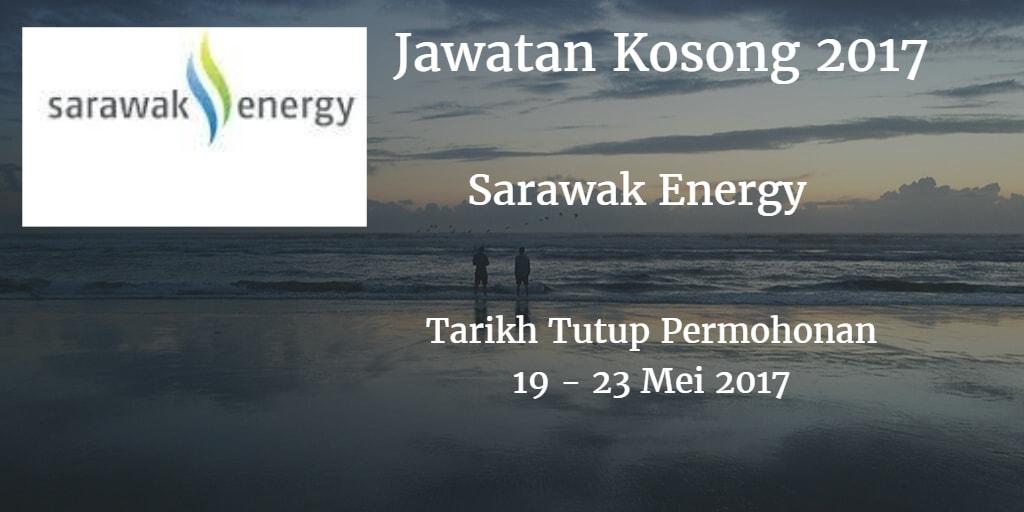 Jawatan Kosong Sarawak Energy 19 - 23 Mei 2017