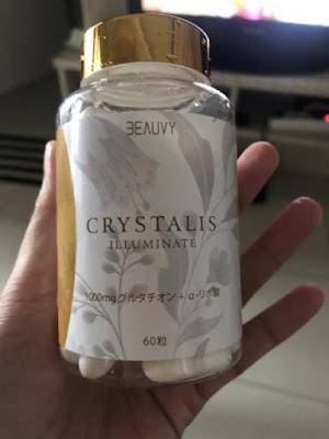 Crystalis Illuminate Suplemen Pemutih Jepang