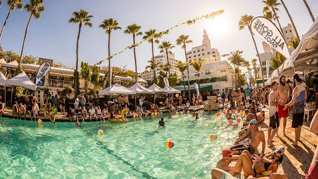 Melhores e mais procuradas pool parties em Miami Beach