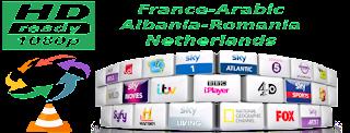 France Canal Arabic OSN NL NPO Romania Albania