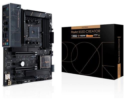 ASUS ProArt B550-Creator AMD ATX Content Motherboard