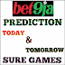 Bet9ja Prediction: Today and Tomorrow Bet9ja Sure Games