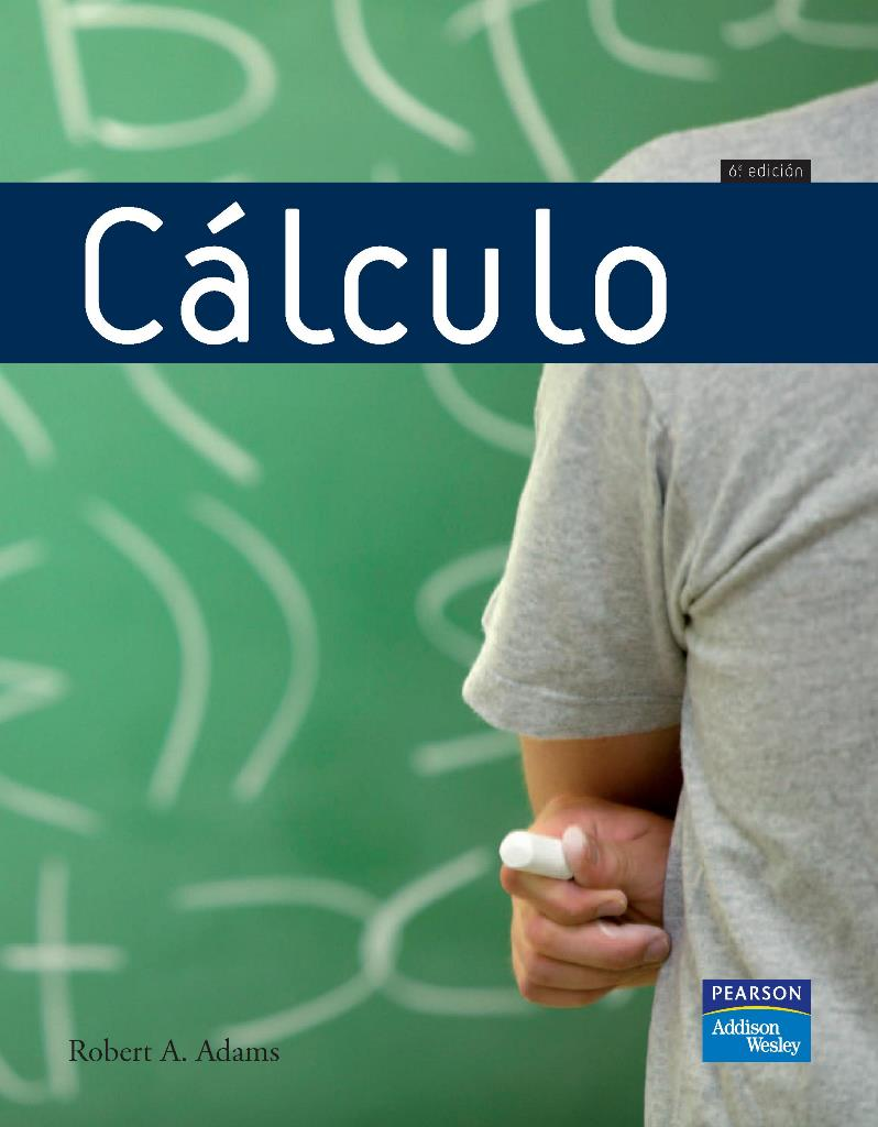 Cálculo, 6ta Edición – Robert A. Adams
