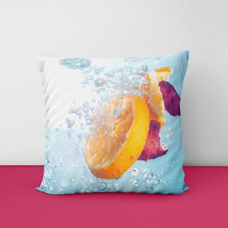 orange cushion covers
