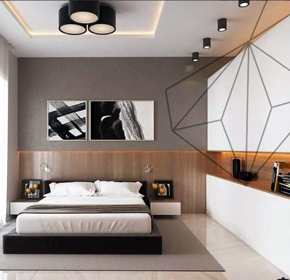Interior kamar rumah modern