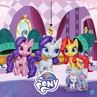 official South African My Little Pony Facebook Rarity, Princess Cadance and Sunset Shimmer