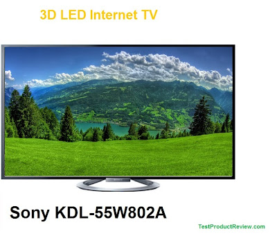 Sony KDL-55W802A 3D LED Internet TV price, specs and review