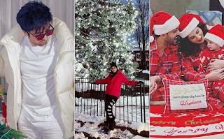 Christmas 2020: From Harrdy Sandhu, Sargun Mehta To Yuvraaj Hans - Pollywood Stars Unleash Festive Vibes