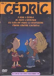 Dvd, Cédric volume 1, 2004, j'aime l'école