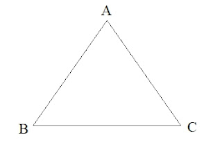 tribhuj ke prakar -types of triangle in hindi