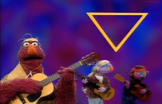 Telly Monster sings Three Sides Now. Sesame Street Best of Friends