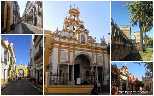 barrio de la Macarena en Sevilla