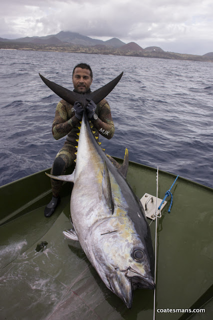 Big Eye Tuna Record MJK 94kg Ascension Island
