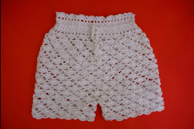5-Crochet Imagen Pantalón a conjunto con camisa de verano a crochet y ganchillo por Majovel Crochet