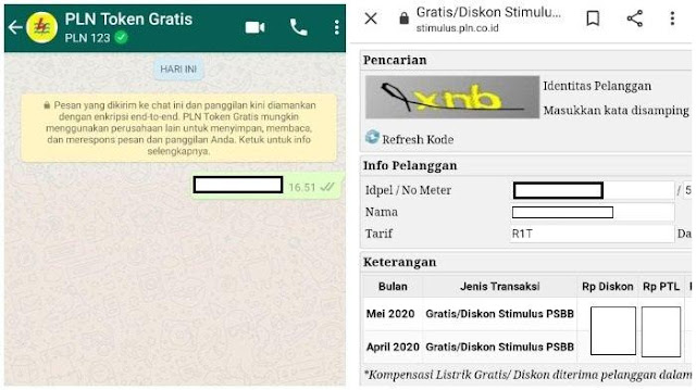 Login www.pln.co.id Klaim Token Gratis PLN Bulan Mei 2020 atau Via WhatsApp 08122123123