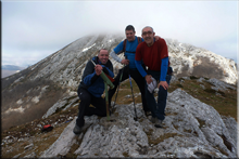 Imeleku (Allarte) mendiaren gailurra 1.319 m. -- 2017ko otsailaren 19an