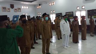 Bupati Batubara Lantik 46 Administrator, Pengawas ASN Dari Eselon IV Ke III Jajaran Pemkab Batubara