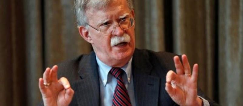 特朗普解僱國家安全顧問約翰·博爾頓,引述強烈分歧