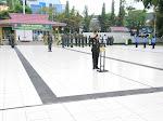 Jelang HUT TNI ke 75, Korem 091/ASN Ziarah ke TMP Kota Samarinda