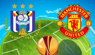 Prediksi Anderlecht  vs Manchester United - Liga Europa 13 April 2017