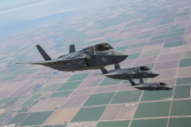 Marine Corps F-35B first deployment