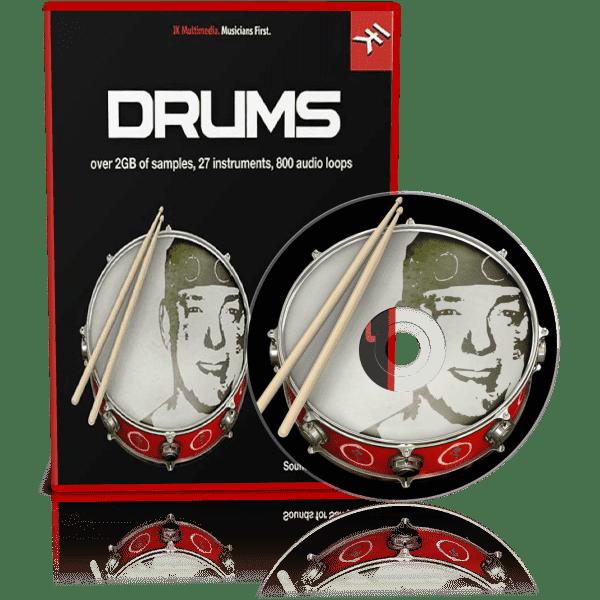 Neil Peart Drums for SampleTank