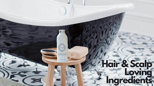 revisão de shampoo em pó ativado por água por barbies beauty bits