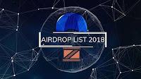 Kumpulan Token Airdrop Terbaru 2018 !