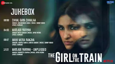 Checkout New Movie The Girl on the Train Songs List and their lyrics