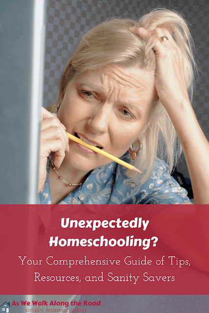 Unexpectedly homeschooling