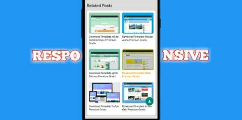 Cara Membuat Related Post Grid (artikel terkait) Dibawah Postingan Blog