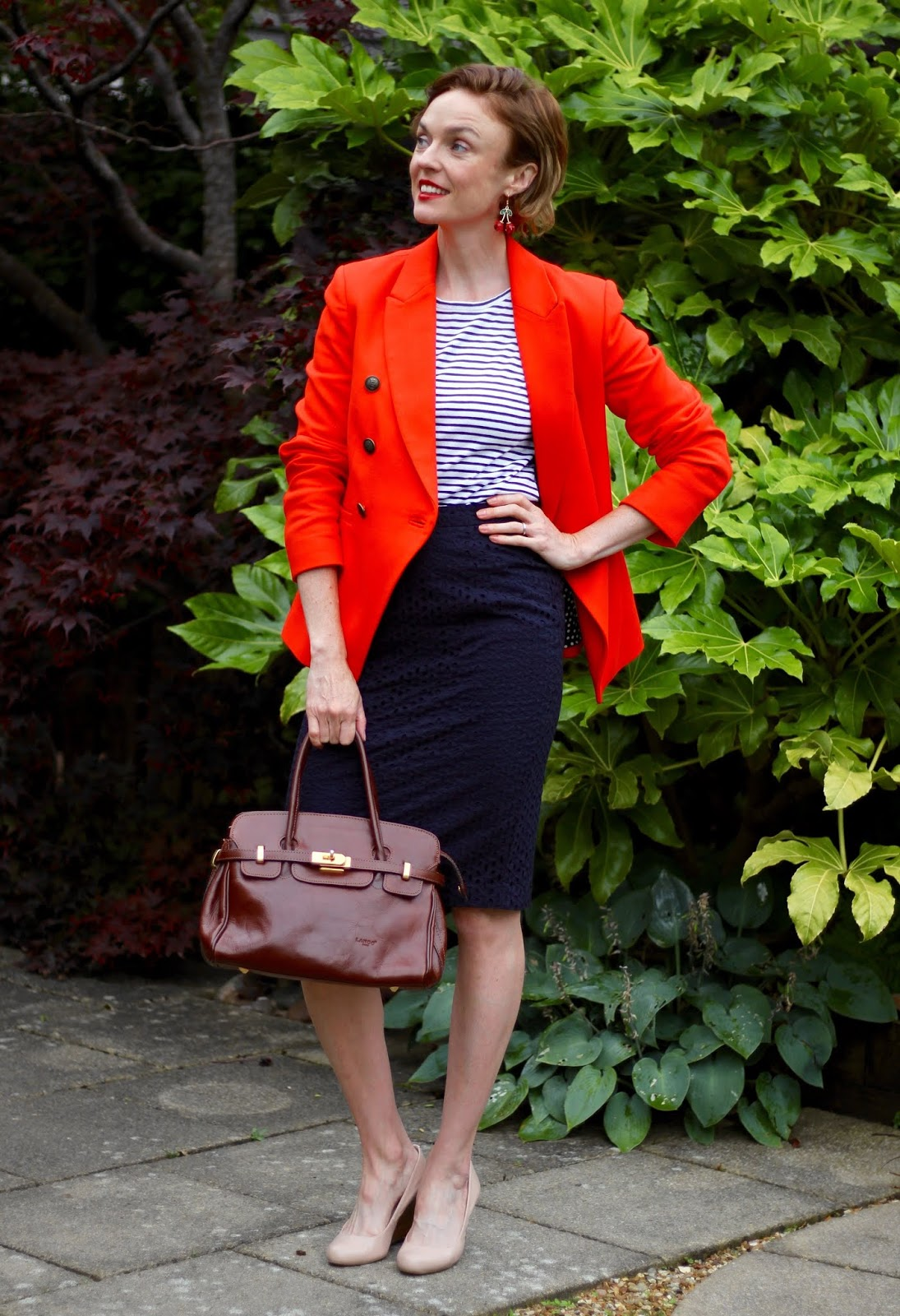 Classic, Bold and Colourful | Smart Casual Autumn Outfit