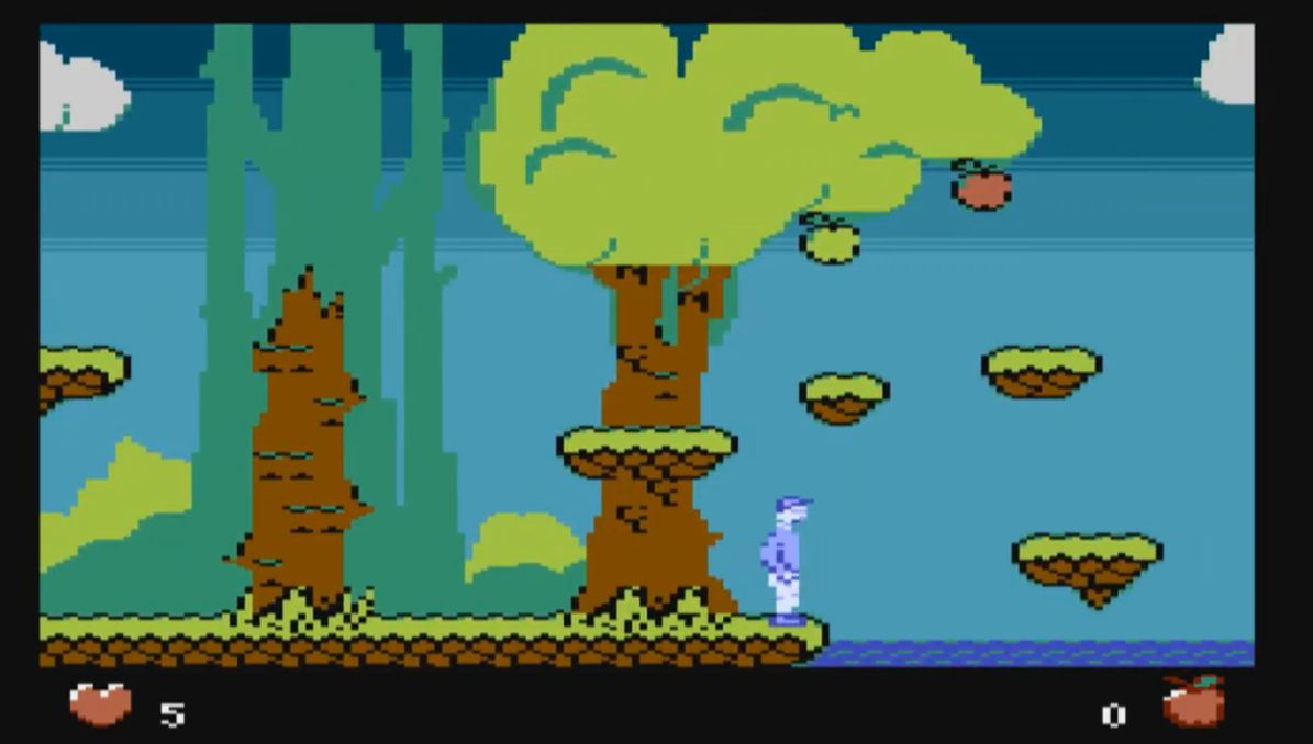 Indie Retro News Dude Story A Rather Cool Looking Platformer In Dev For The Atari Xl Xe