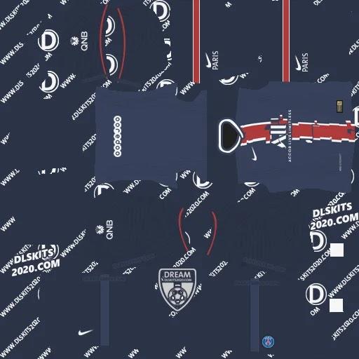 Paris Saint-Germain F.C. Kits 2021-2022 Nike - Kit Dream League Soccer 2021 (Home)
