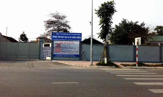 Trung tâm đào tạo lái xe B1, B2 Hàng Không, Long Biên, Hà Nội