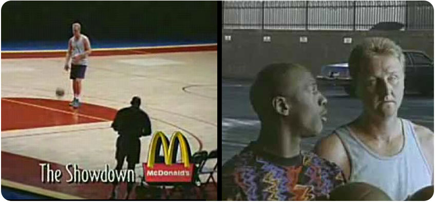 Bird vs. Jordan McDonalds