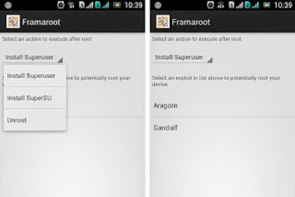 Cara Mudah Root Android dengan FramaRoot Versi Terbaru