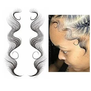 Baby Hair Temporary Tattoos Sticker - DIY Hairstyling Natural Curly Hair
