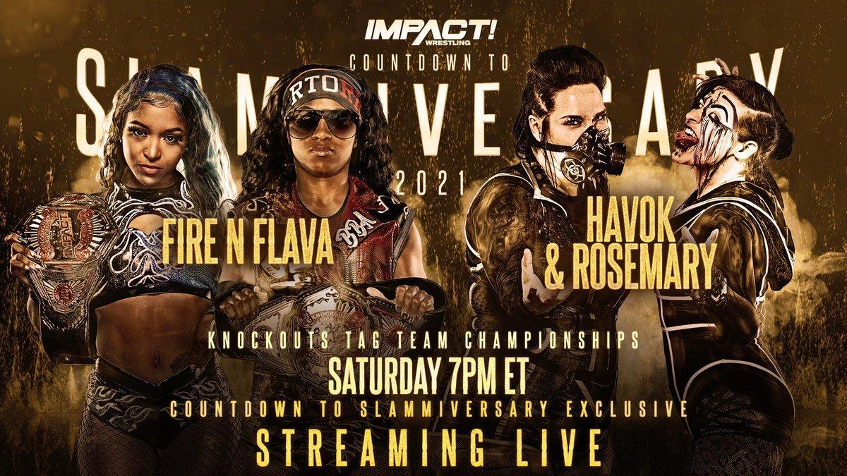 Havok e Rosemary conquistam o IMPACT Knockouts Tag Team Championship