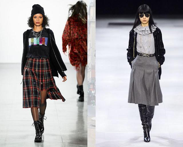 Модная юбка осень-зима 1