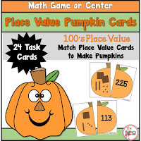 Place Value Pumpkins to 100s place