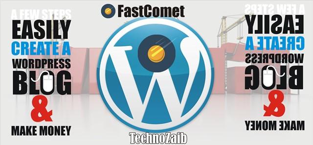 few steps easily create a WordPress Blog