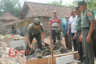 9 Veteran Ini Dapatkan Program Bedah Rumah RTLH, Di HUT TNI Ke- 72