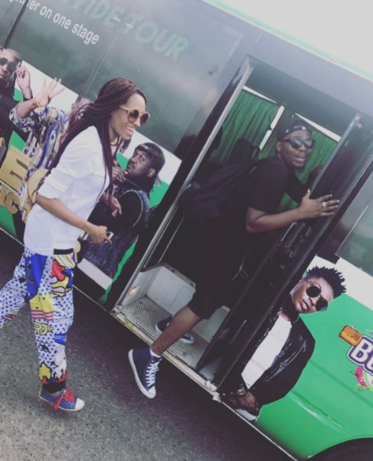 Olamide Having So Much Fun With The GLO Team - MadeIn Krockcity