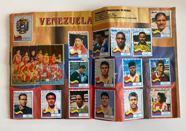 figurine Venezuela copa america '95  Navarrete