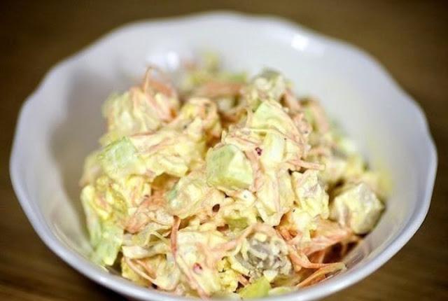 Салат с морковью по-корейски картинка-рецепт