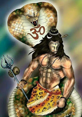 Mahakal With Snake Images