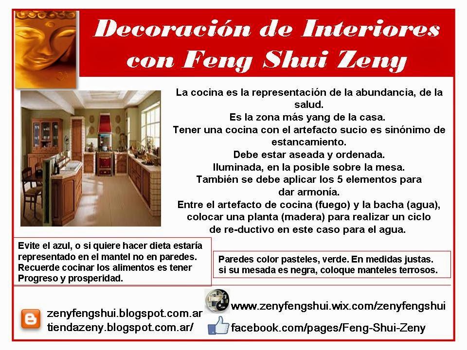 ZEN Y FENG SHUI + TAO : FENG SHUI COCINA